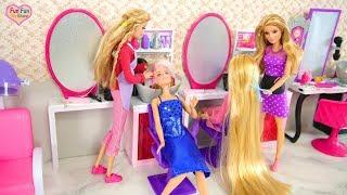 Download Barbie Sparkle Style Salon Unboxing Review Salon kecantikan boneka Barbie Salão de beleza Video