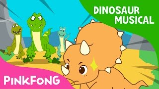 Download The Cool Horns of Triceratops | Dinosaur Musical | Pinkfong Stories for Children Video