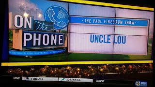 Download Idiot on Finebaum says Uncle Lou isn't a real fan lol Video
