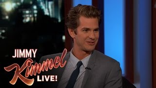 Download Andrew Garfield on Mel Gibson Video