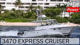 Download Glacier Bay 3470 Express Cruiser | KNOT ON CALL Video
