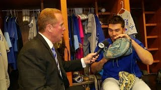 Download ATL@KC: Hosmer discusses preparing for a game Video