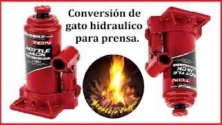 Download COMO INVERTIR GATO HIDRAULICO / HOW TO UPSIDE DOWN A HYDRAULIC JACK Video