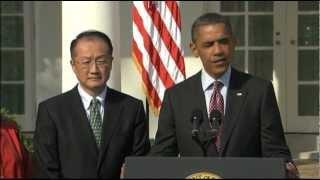 Download Obama Taps Jim Yong Kim for World Bank Video