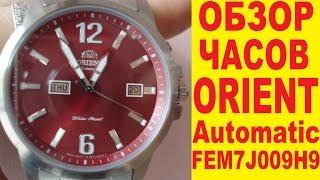 Download Обзор механических часов Orient с автоподзаводом FEM7J009H9 Video