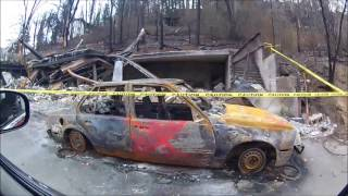 Download Gatlinburg damaged by Wild Fires 12/9/2016 Video
