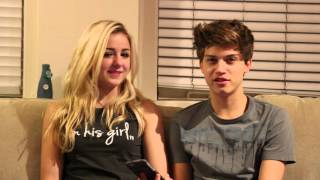 Download Q & A with Ricky Garcia and Chloe Lukasiak - Boyfriend Tag Video