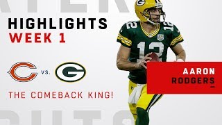 Download Aaron Rodgers' EPIC 17-Pt Comeback after First-Half Injury! Video