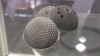 Download 3d printing with metal, titanium & aluminum demo by EOS @ MDM 2013 Video