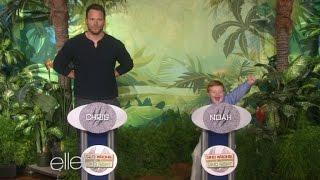 Download Apparently Kid Totally Schools Chris Pratt on Dinosaur Knowledge Video