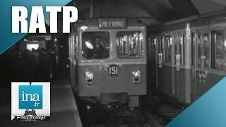 Download 1951 : voici le nouveau métro sur pneus | Archive INA Video