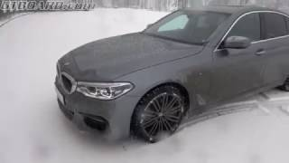 Download [4k] G30 BMW 540i xDrive WINTERCAR NO UNDERSTEER only great balance. Let it SNOW ❄🌨❄ Video