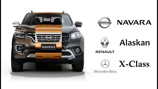 Download ปิคอัพ 1 โมเดล แต่ขาย 3 ยี่ห้อ(ได้ไง) Nissan-Renault-Mercedes Benz | MZ Crazy Cars Video