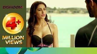 Download Varun and John are stunned after seeing Nargis Fakhri in bikini | Dishoom | Movie Scene Video
