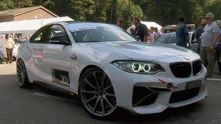 Download BMW M2 Coupé 540 PS/730 NM by ″dÄHLER competition line″ at Gurnigel Hillclimb 2016 Video