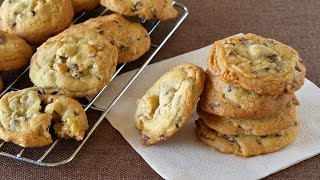Download Soft and Chewy Chocolate Chip Cookies チューイーチョコレートチップクッキー - OCHIKERON - CREATE EAT HAPPY Video