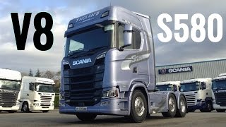 Download 2017 New SCANIA S580 V8 Truck - Full Tour & Test Drive - Stavros969 4K Video