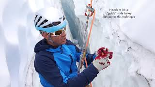 Download How to Rappel Into and Ascend Out of a Crevasse Video