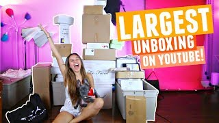 Download LARGEST MAKEUP UNBOXING On YouTube! Video