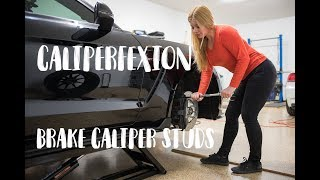 Download Caliperfexion Ford Shelby GT350 Brake Caliper Stud Install Video