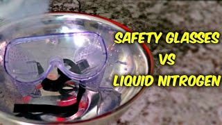 Download What Happens If You put Safety Glasses into Liquid Nitrogen? Video