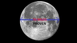 Download The Moon Is 70 Miles Wide Proved Video