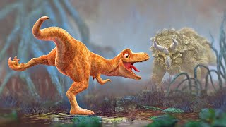 Download Dinosaur Animation - Cartoon for Children - PANGEA Movie Trailer Video