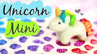 Download MINI UNICORN - Polymer Clay Charm - How To | SoCraftastic Video