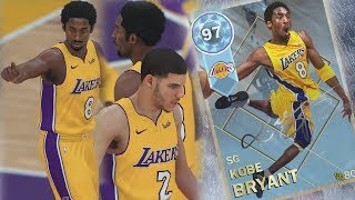 Download NBA 2K18 My Team - Pulled Diamond Kobe! Lonzo Lobs! PS4 Pro 4K Gameplay Video