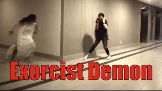 Download Exorcist Demon office prank - Happy Halloween 2014! Video