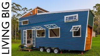 Download Stunning Tiny House With Amazing Pop Up Roof Video