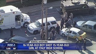 Download Teen breakup may be to blame for Italy Texas High School shooting Video