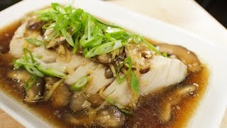 Download Steamed Fish w/ Ginger Soy Sauce ปลานึ่งซีอิ้ว - Hot Thai Kitchen Video