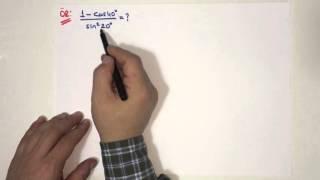Download TRİGONOMETRİ (BÖLÜM7) YARIM AÇI FORMÜLLERİ Video