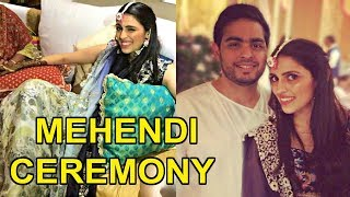 Download Akash Ambani And Shloka Mehta Mehendi Ceremony Video