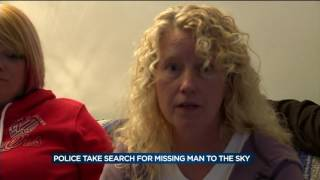 Download Police search from sky for missing Janesville man Video