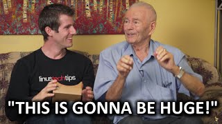 Download My 91yr Grandpa Meets Google Video