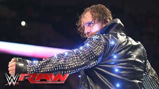 Download Dean Ambrose destroys Chris Jericho's jacket: Raw, May 9, 2016 Video