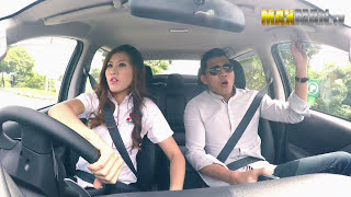 Download Sales Girl Drifts Customers in Pickup Truck - Maxmantv Video