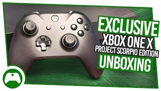 Download EXCLUSIVE Xbox One X Project Scorpio Edition Unboxing! Video
