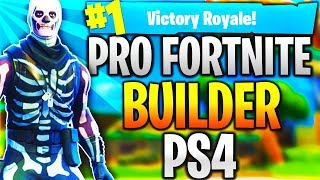 Download Pro Fortnite Player PS4! Level 100 | Top Builder | Fast Builder | 12k+ Kills! (TOP CONSOLE BUILDER) Video