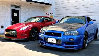 Download My Friends R34 GTR In The USA! Video