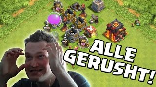 Download ALLE RATHÄUSER GERUSHED! || CLASH OF CLANS || Let's Play CoC [Deutsch/German HD+] Video