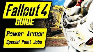 Download Fallout 4 Power Armor Special/Unique Paint Jobs Guide & Overview Video