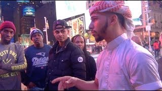 Download ARAB GUY HAS AN EPIC RAP BATTLE! Video