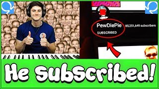 Download Pianist forces strangers on Omegle to sub to PewDiePie Video