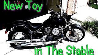 Download Yamaha V Star 650 - A New Summer Toy Added To The Stable Video