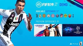 Download FIFA 19 Demo - Official gameplay Juventus vs Real Madrid Video