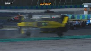 Download Eurocup Formula Renault 2.0 2017. Race 1 Hungaroring. Luis Leeds Crash Video