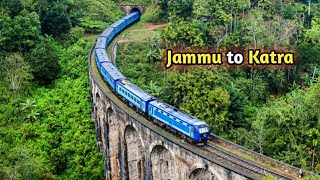 Download Jammu to Katra full Railway Tour | Mata Vaishno Devi yatra most Amazing Visuals. Video